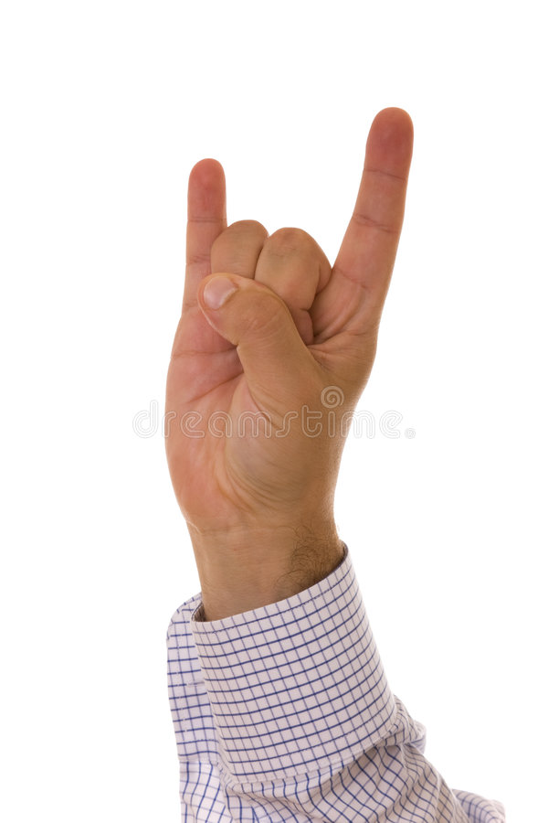 Download Horn gesture stock photo. Image of cool, relationship - 7931042