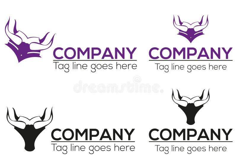 Horn graduation icon and logo design stock photo