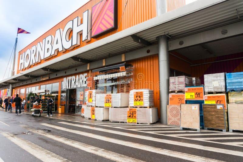 Hornbach-Speicher stockfoto
