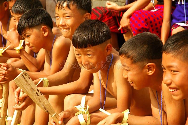Hornbill-Festival von Nagaland-Indien. stockfoto