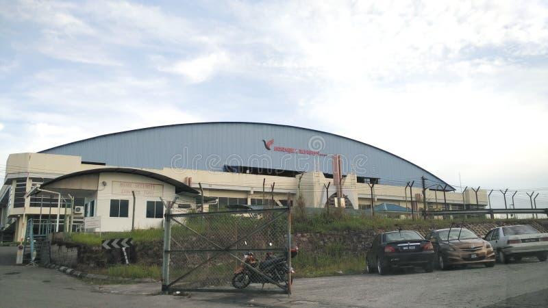 Hornbill skyway in Kuching Sarawak Malaysia stockbilder