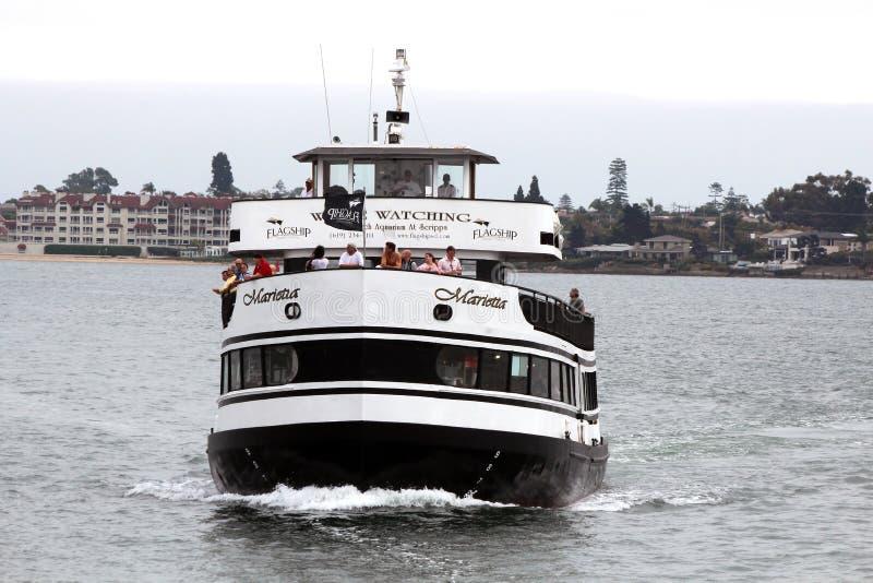 Hornblower Cruise Ship, San Diego Editorial Image