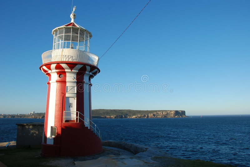 The Hornby Lighthouse stock images