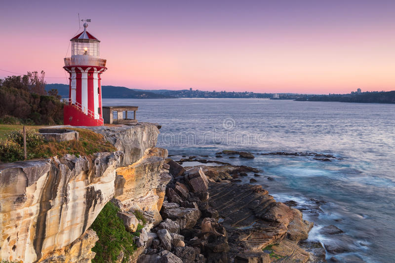 Hornby lighthouse royalty free stock photography