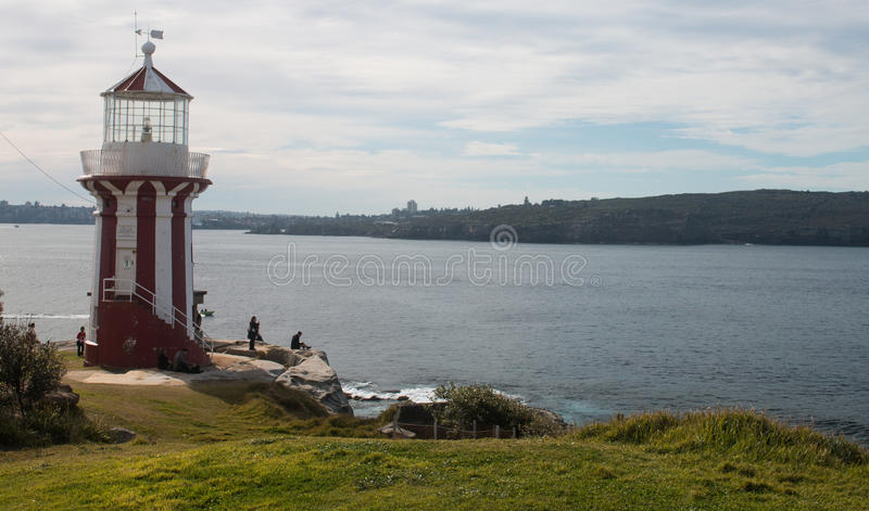 Hornby Lighthouse stock image