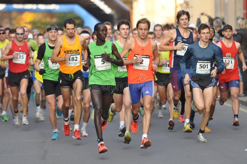 Hornicka desitka 2011, runners on start, 2011