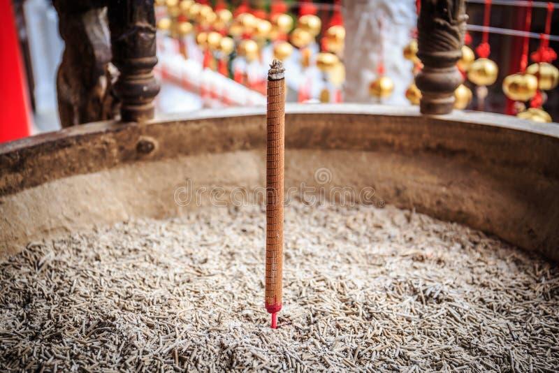 Hornilla de incienso del templo de Wenwu fotografía de archivo