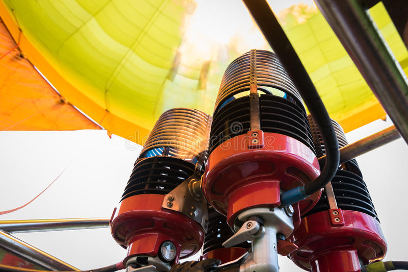 Hornillas del globo del aire caliente imágenes de archivo libres de regalías