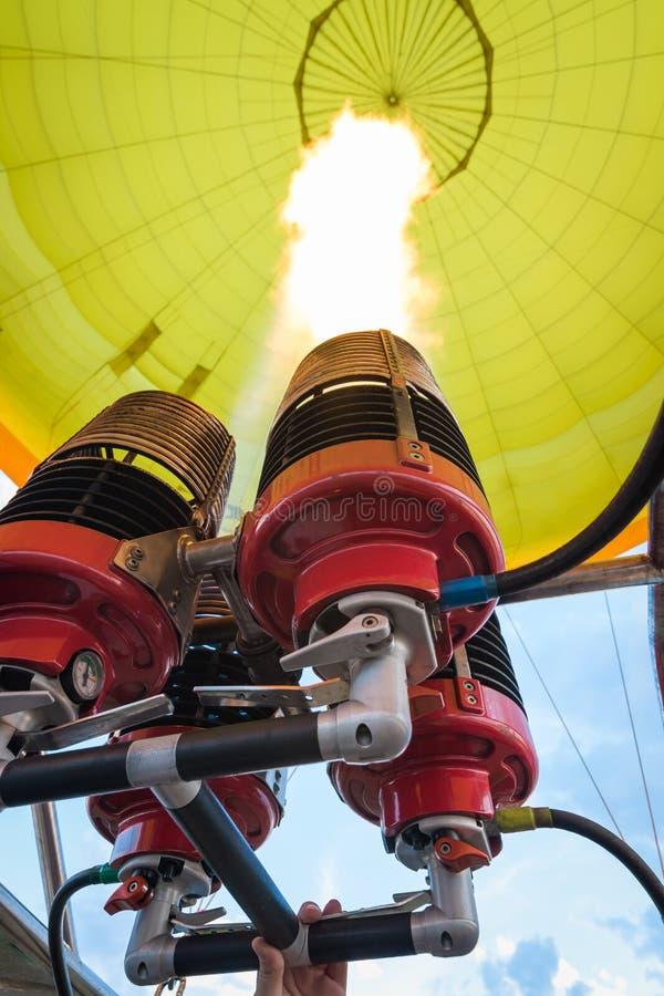 Hornillas del globo del aire caliente fotos de archivo libres de regalías