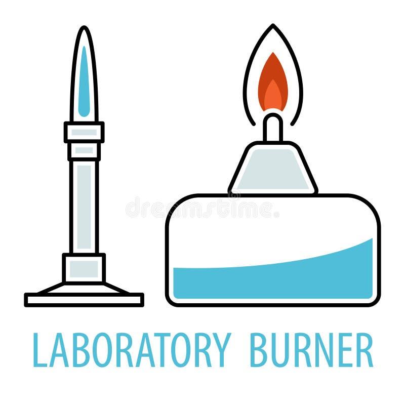 Hornillas químicas del equipo libre illustration