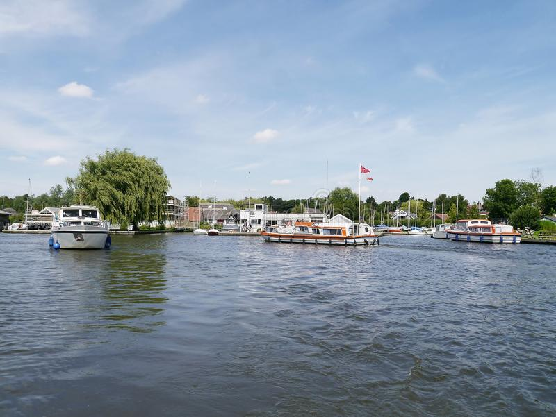 Horning area, Norfolk Broads, England royalty free stock images