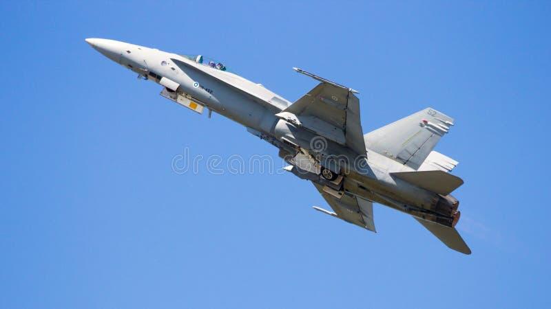 Hornisse F-18 stockbild