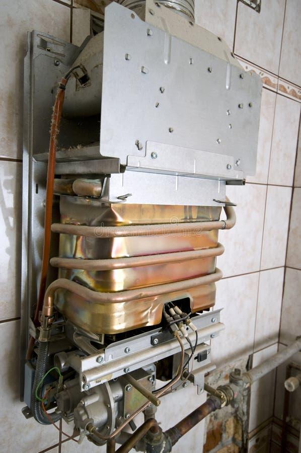 Horno de gas imágenes de archivo libres de regalías