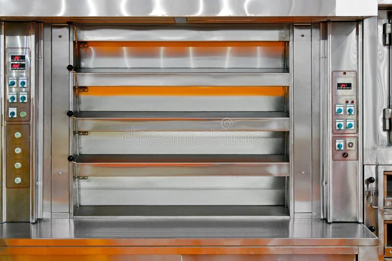 Horno de panadería imagen de archivo