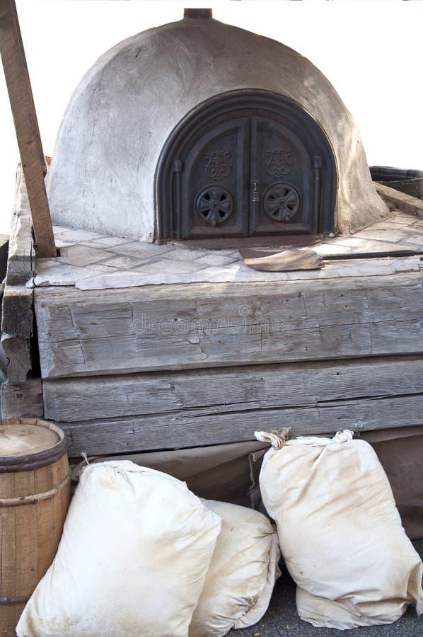 Horno del pan imagen de archivo