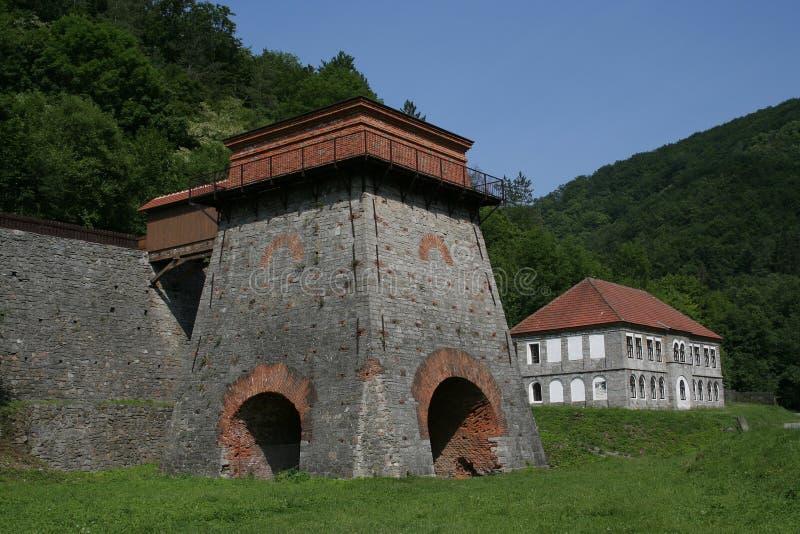 Horno viejo cerca de Adamov imagen de archivo libre de regalías