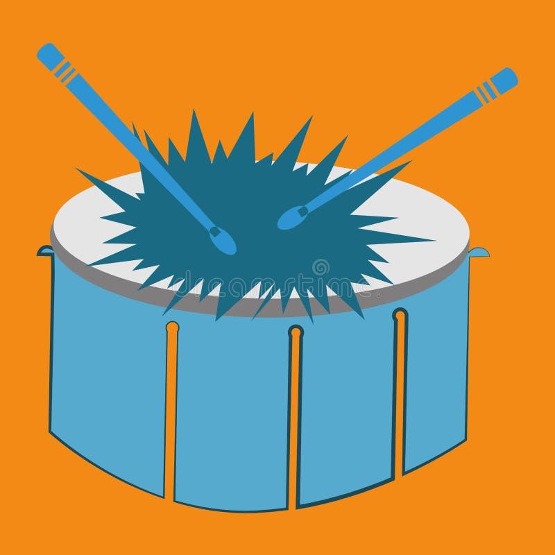 hornsection仪器音乐零件萨克斯管 皇族释放例证