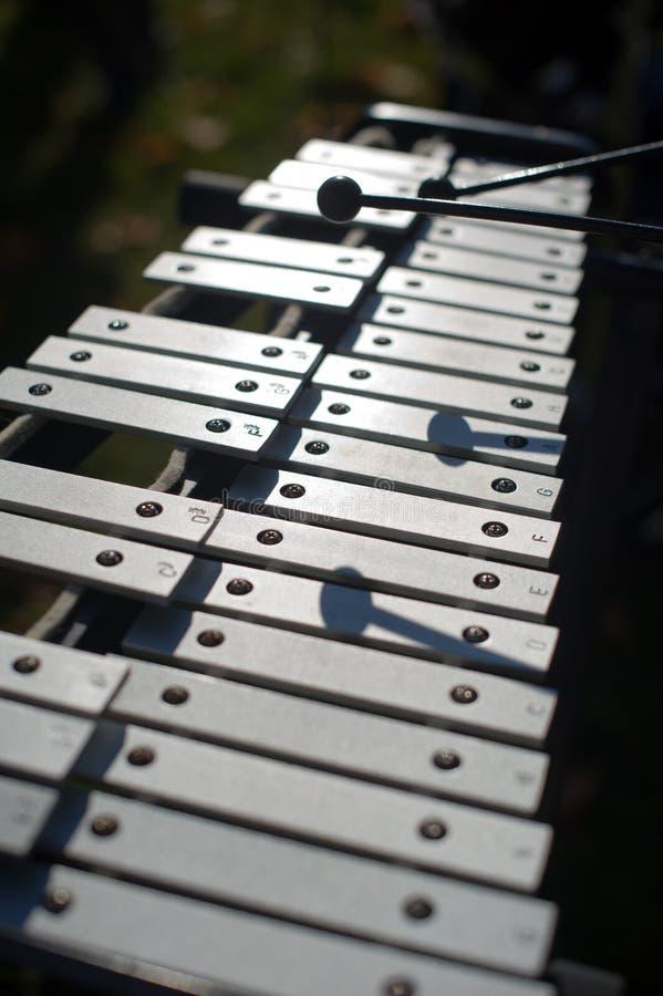 hornsection仪器音乐零件萨克斯管 免版税图库摄影