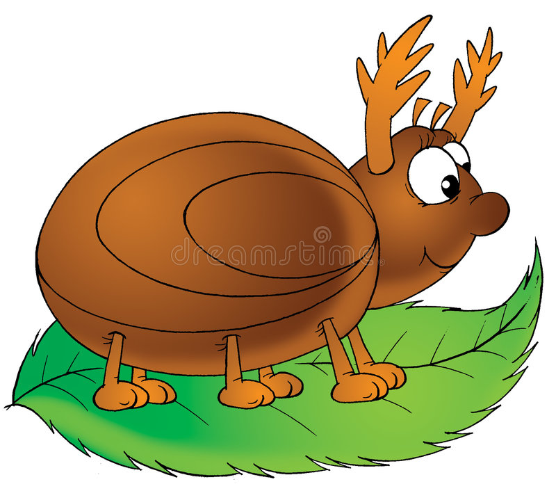 Download Bug stock illustration. Image of animated, funny, insect - 1681071