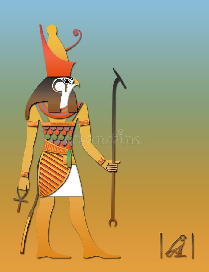 Horos the egyptian god of sky