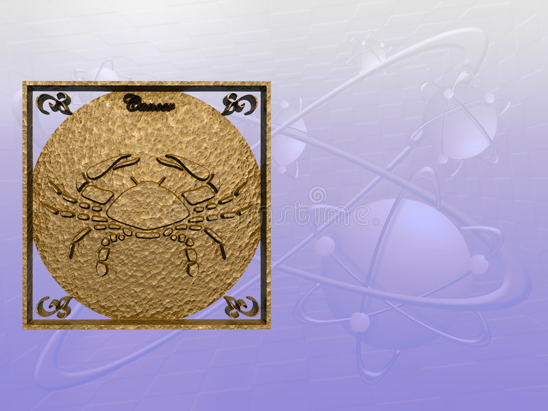 Download Horoscope рака иллюстрация штока. иллюстрации насчитывающей цвет - 485467
