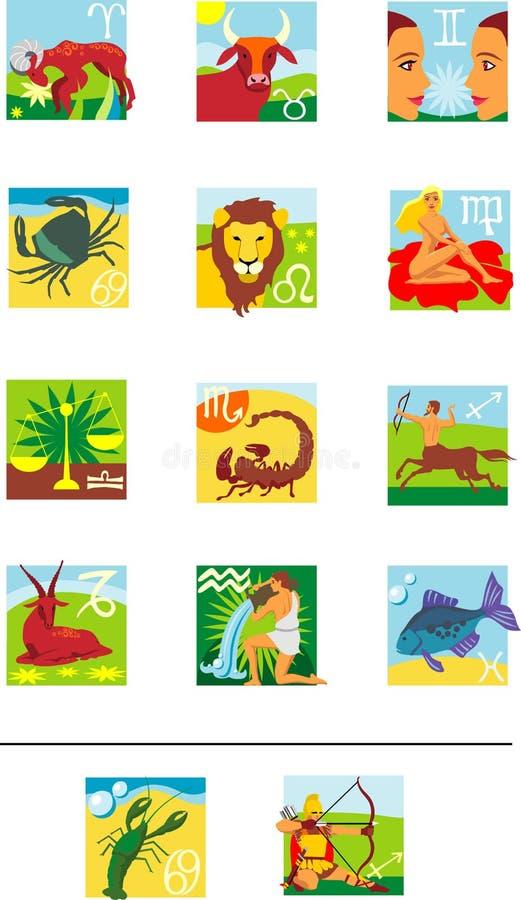 Horoscope immagini stock