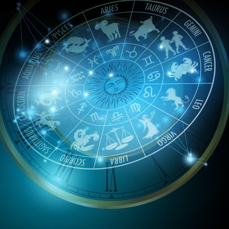 Horoscope stock illustration