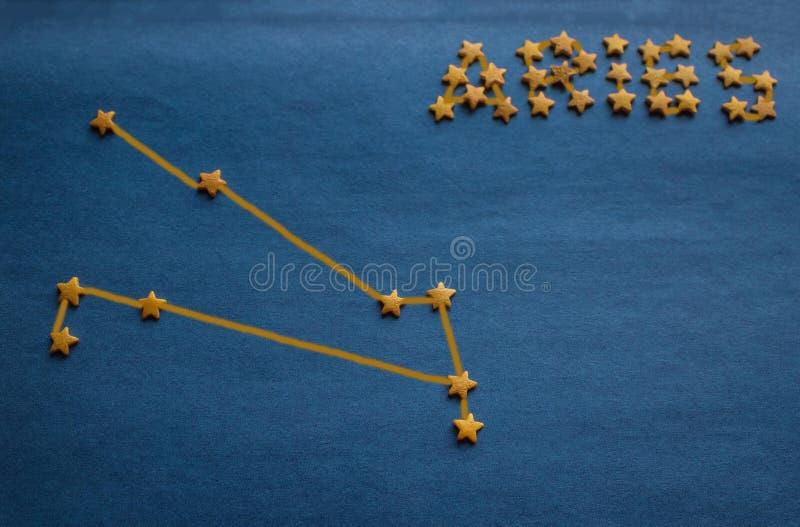Horoscope, Bélier de constellation image libre de droits
