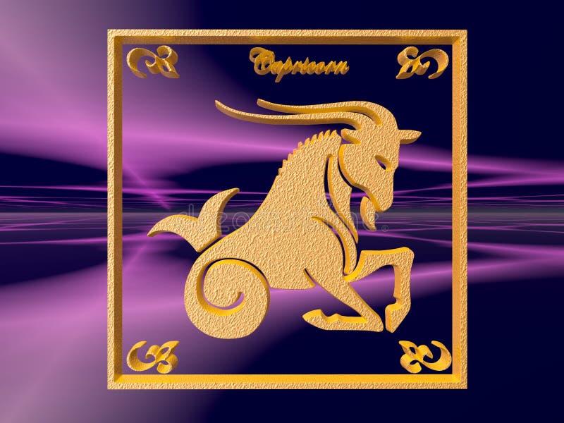 Download Horoscope, Capricorn stock illustration. Illustration of logo - 1415722