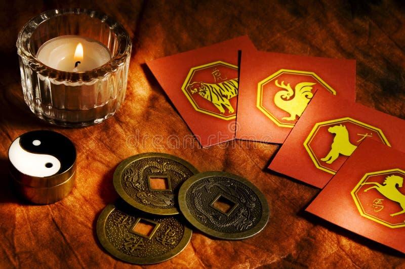 Horoscope de China imagem de stock royalty free