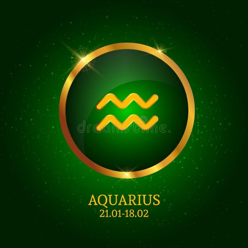 horoscope Icona dello zodiaco illustrazione vettoriale