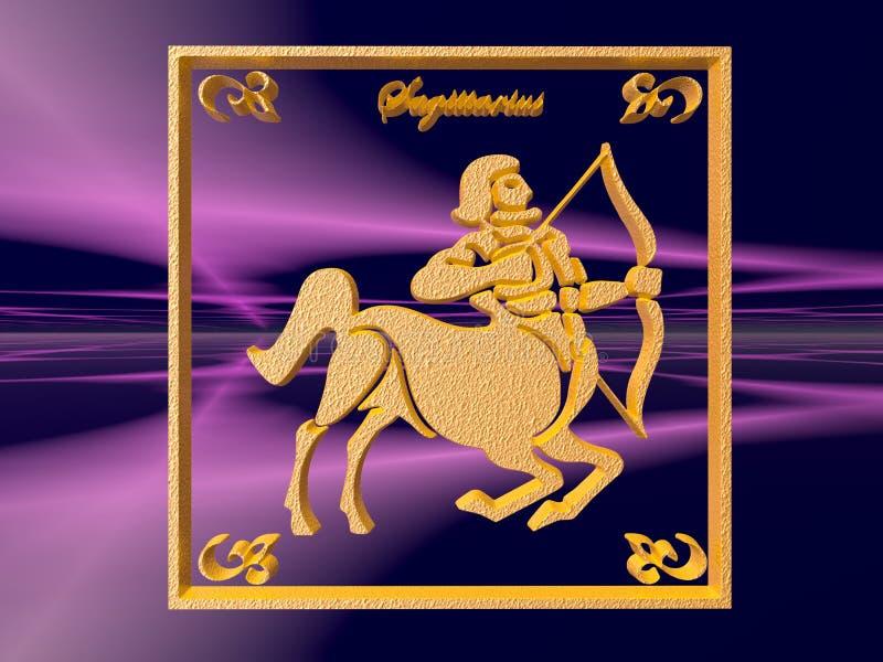 Download Horoscope, Sagittarius stock illustration. Illustration of orbit - 1416023