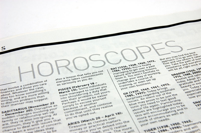 Horoscopen royalty-vrije stock foto's