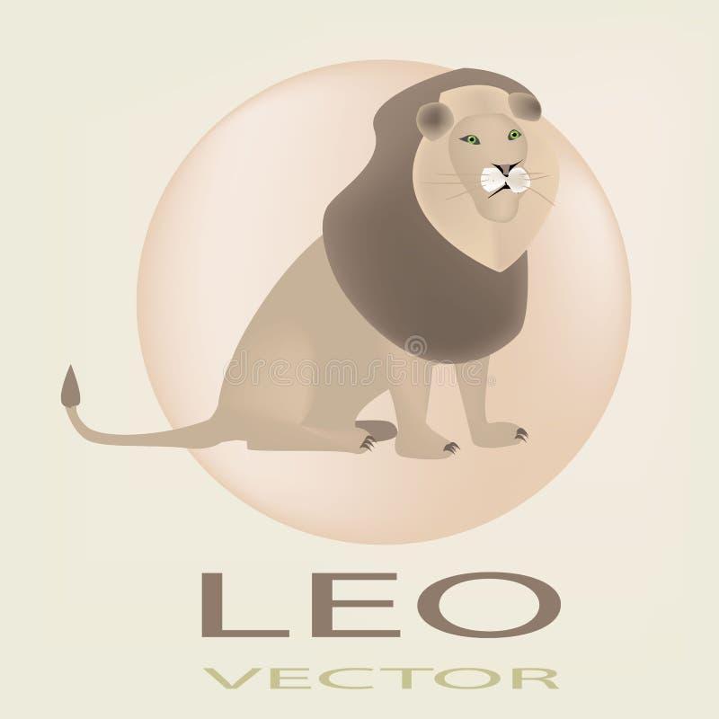 Horoskop Löwe stockfotos