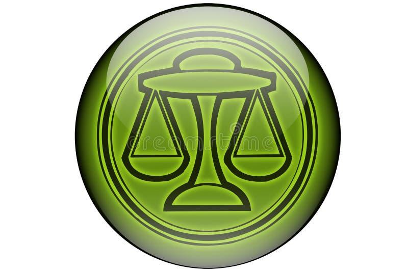 horoskoplibra vektor illustrationer
