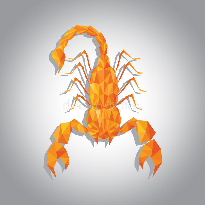 HoroskopSkorpion royaltyfria foton