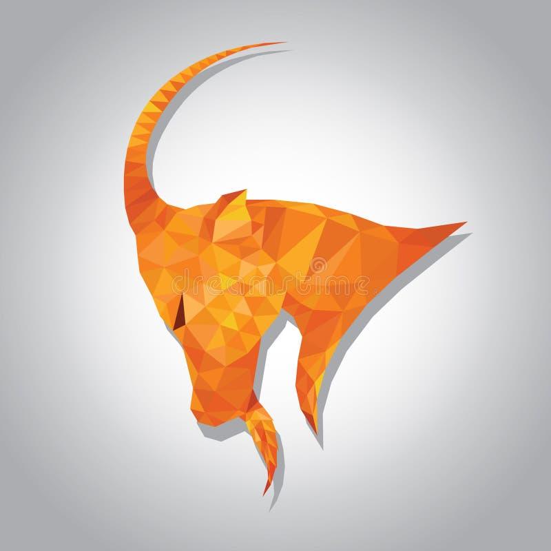 HoroskopStenbocken arkivbild