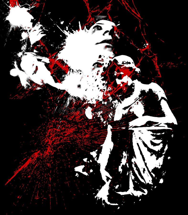 Horreur 01 illustration libre de droits