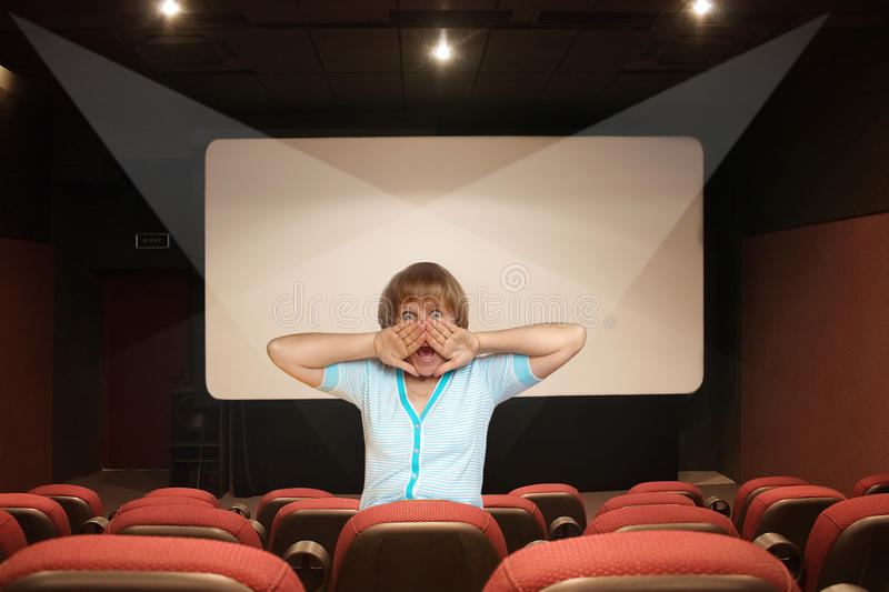 Horreur de cinéma image libre de droits