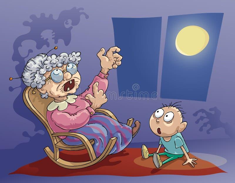 Download Horrible Story stock vector. Illustration of grandma - 27928388
