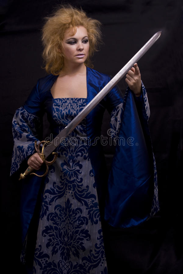 Free Horrible Witch With Sword. Stock Photography - 11396412