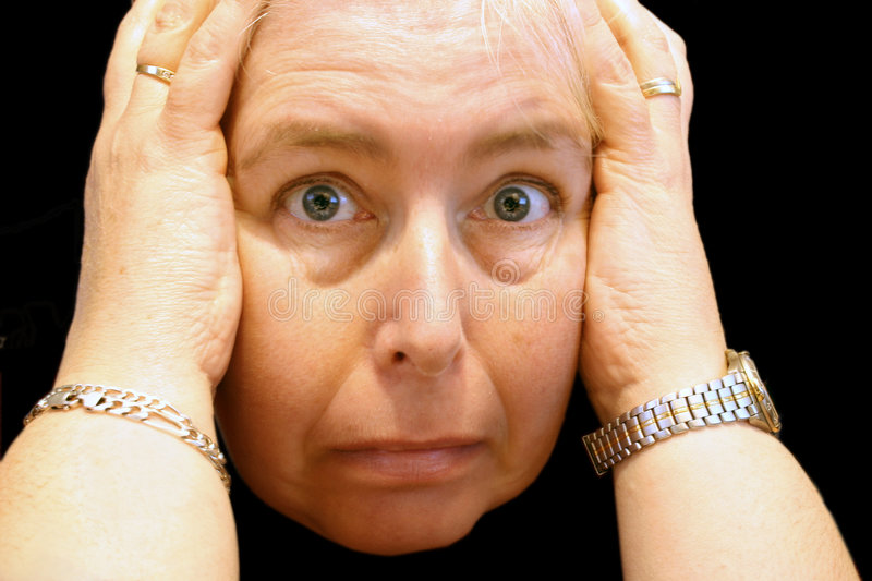 Download Horrified expression stock photo. Image of frustrated - 1494844