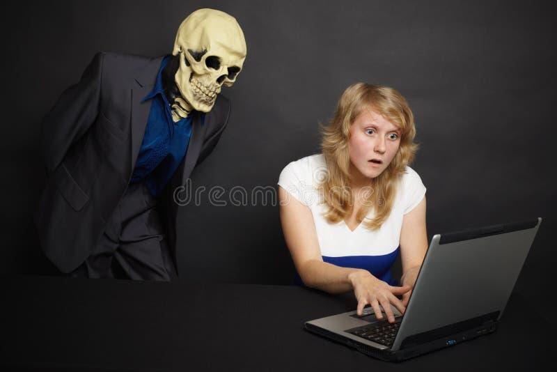 horrorów internety zobaczyć co zdjęcia stock