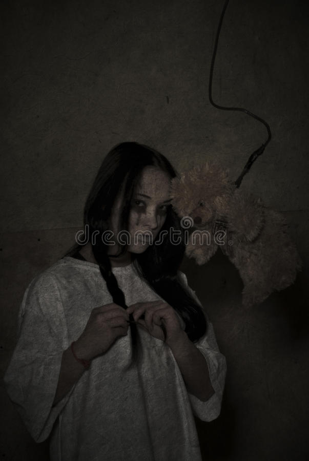 Download Horror stock photo. Image of glowing, night, illuminated - 16981670