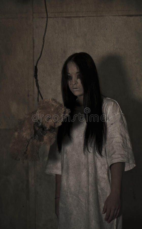 Horror royalty free stock images