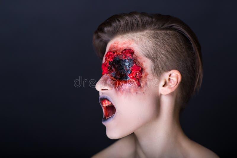 Horror fotografia stock