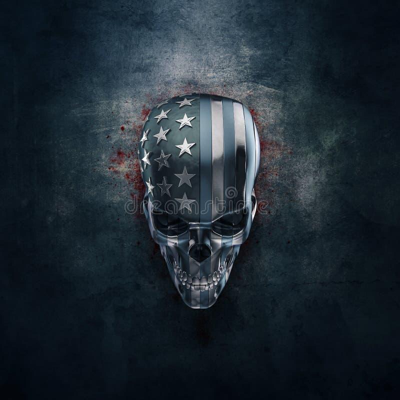 Horror americano en metal libre illustration
