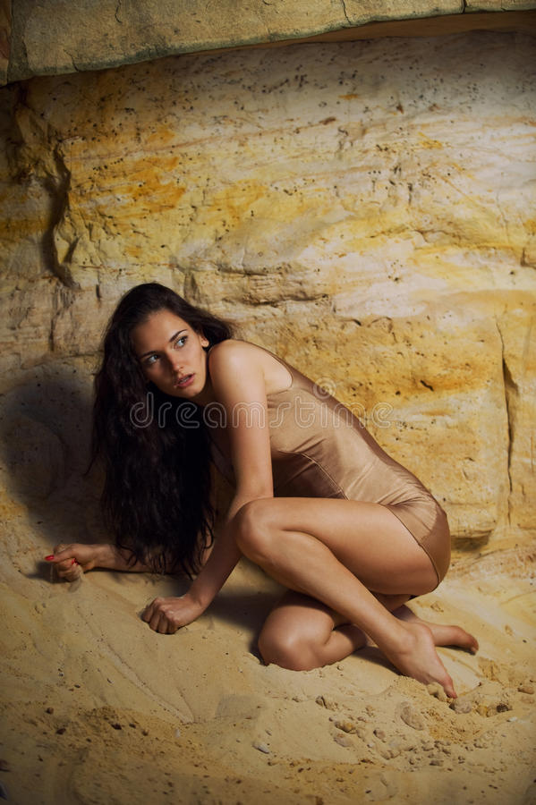 Download Horror the cave stock image. Image of yellow, cute, grotto - 12516329