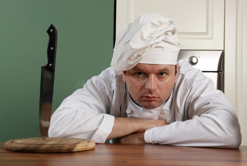 Download Horror chef stock image. Image of face, chef, expression - 23841953