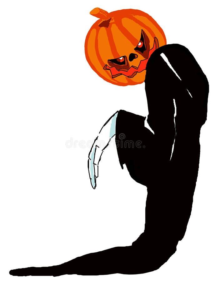 Horror de Halloween ilustração do vetor